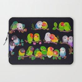 Lovebird - dark Laptop Sleeve