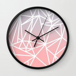 Gradient Mosaic 1 Wall Clock