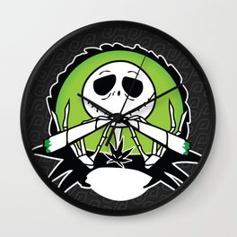 Jack's Two Joints Wall Clock