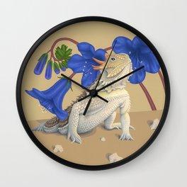 Coast Horned Lizard Wall Clock