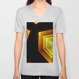 The Main Room In The Home Unisex V-Neck