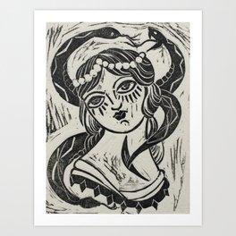 I Dreamt of Snakes Art Print