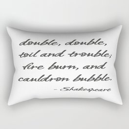 Toil and Trouble Rectangular Pillow