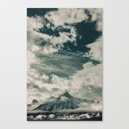 Cloud Mountain in the Canadian Wilderness Canvas Print