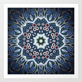 Mandala Seven Art Print