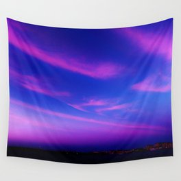 City by Atlantic Wall Tapestry