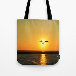 Icarus Vacationing in San Diego, California Tote Bag