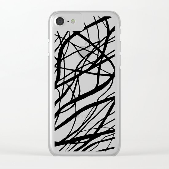Tumble Weed Clear iPhone Case