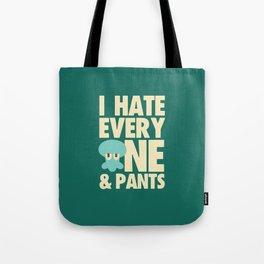 Squidward Quotes Tote Bag