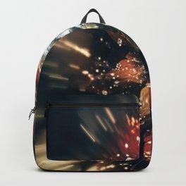 3D Color Flower V3 Backpack