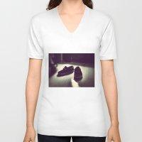 vans V-neck T-shirts featuring Vans by Efua Boakye