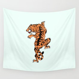 Tiger style Wall Tapestry