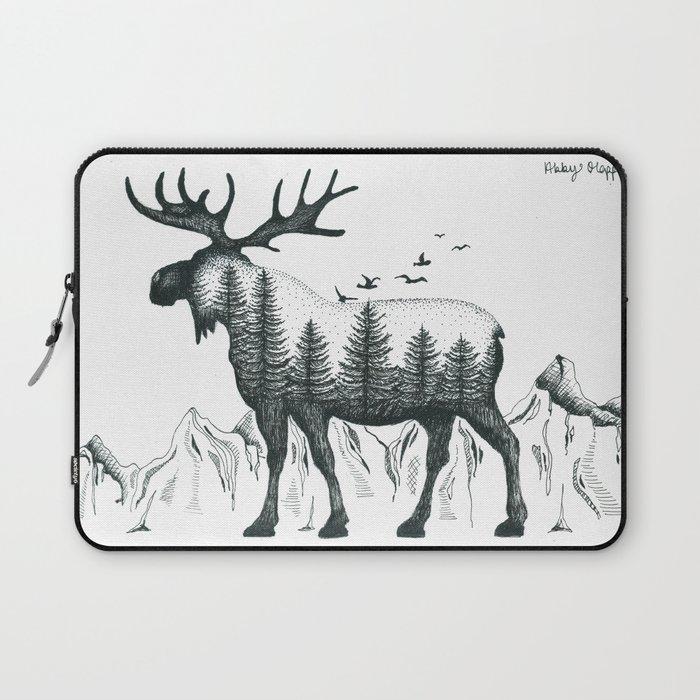 Moose Laying Down Drawing