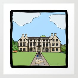Cambridge struggles: Magdalene College Art Print