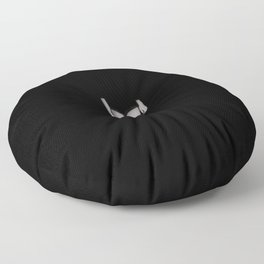 Are you afraid of the dark?  Floor Pillow
