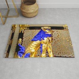 Gorudenraion, golden lion Rug