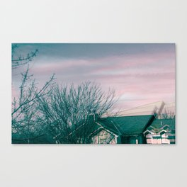 It's a beautiful day in the neighborhood Canvas Print