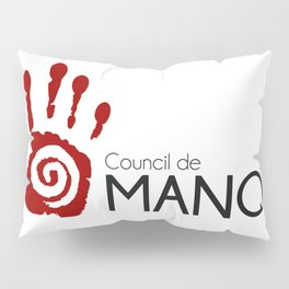 Council de Manos' logo Pillow Sham