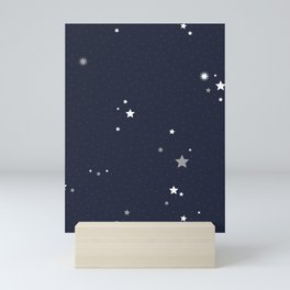 Starry Night Sky Mini Art Print