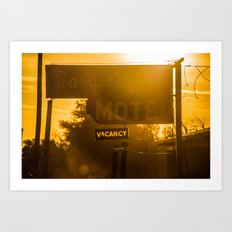 Fabulous Motel Art Print