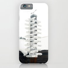 Directions to Anywhere iPhone 6s Slim Case