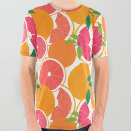 Grapefruit Harvest All Over Graphic Tee