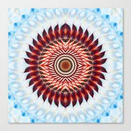 Windmill mandala Canvas Print