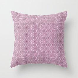 Linnea borealis stem pith rose Throw Pillow