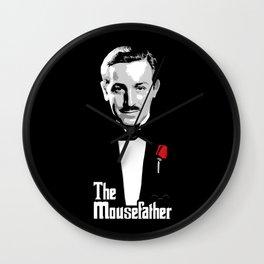 Walt E.Disney, The Mousefather Wall Clock