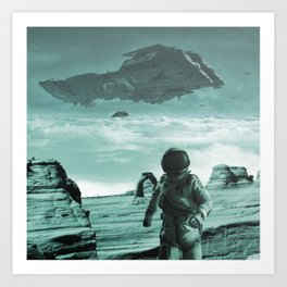 Colonization Art Print