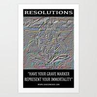 (Chakranicity Resolutions 2 Series) Art Print