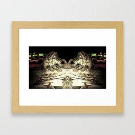 Under Cuntstruction Framed Art Print