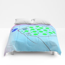 Queen Fish Comforters