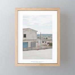Città fantasma, Montuïri Framed Mini Art Print