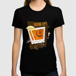 Mr. Whiskey Says Drink Up T-shirt