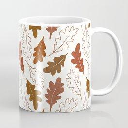 Autumn oak leaves Coffee Mug