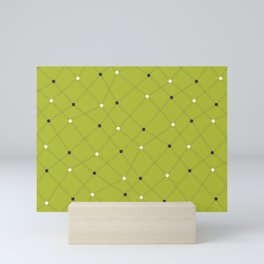 Chemistry Class Doodles - Lime Mini Art Print