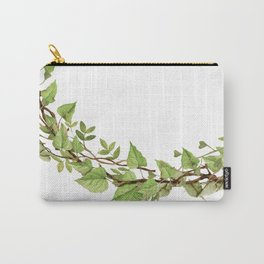 Geenery Wreath Carry-All Pouch