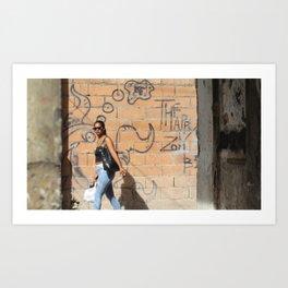 Cuban Streetlife - Bite me Art Print
