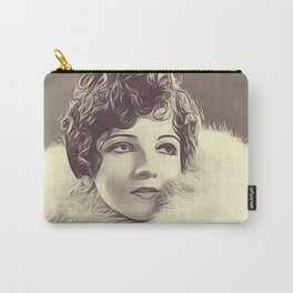 Claudette Colbert Carry-All Pouch