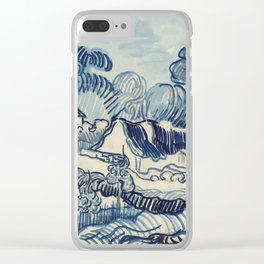 "Vincent van Gogh ""Landscape with Houses"" Clear iPhone Case"