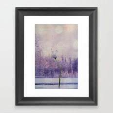 miss spring Framed Art Print