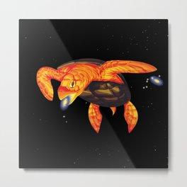 Universal Turtle Metal Print