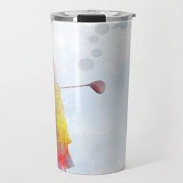 Golfer 2 Travel Mug