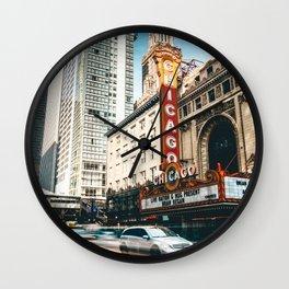 chicago strret Wall Clock