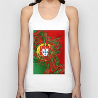 portugal Tank Tops featuring Portugal by Danny Ivan