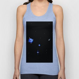 SATURN AND DIONE Unisex Tank Top