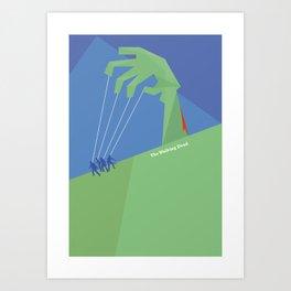 Walking Dead Poster Art Print