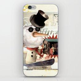 COLLAGE: Snow iPhone Skin
