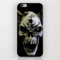 bones iPhone & iPod Skins featuring Bones by Shalisa Photography